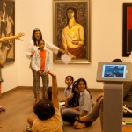 Visit to the DAG at Kala Ghoda to view and respond to works of  the  Progressive Group.