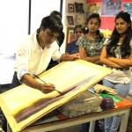 Watercolour demo by artist Satyajit